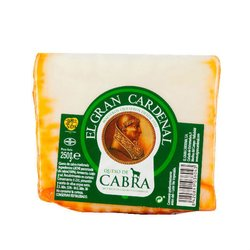 3 Month Aged Goat's Cheese Cured with Paprika & Olive Oil 250g