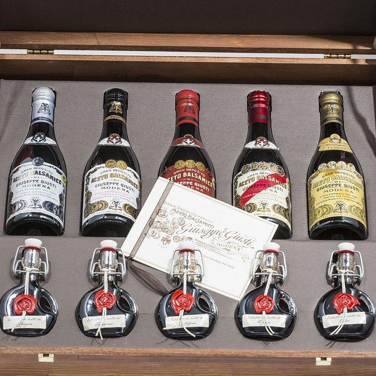 Deluxe Balsamic Vinegar Gift Set 5 x 250ml & 5 x 40ml
