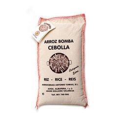 500g Valencia Bomba Rice DO in Cotton Sack