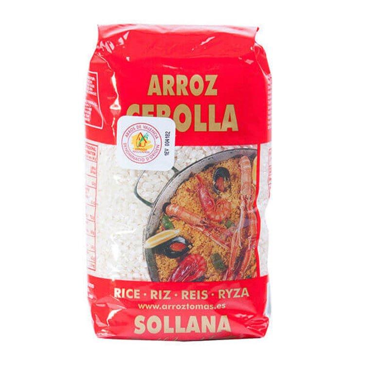 1kg Extra Short White Valencia Round Rice DO (Gluten Free)