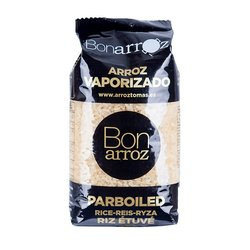 Vaporised (Parboiled) White Round Paella Rice 1kg