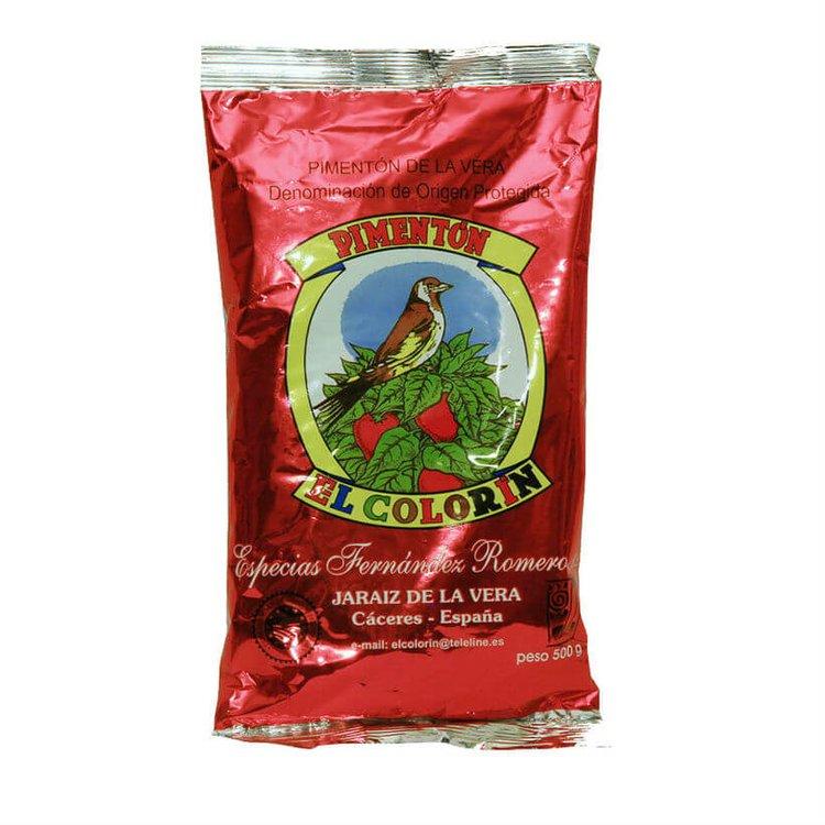 Smoked Sweet Spanish Paprika De La Vera DOP 500g