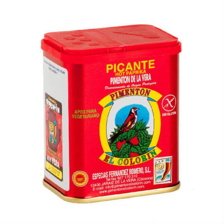 Smoked Hot Spanish Paprika De La Vera DOP 125g Tin