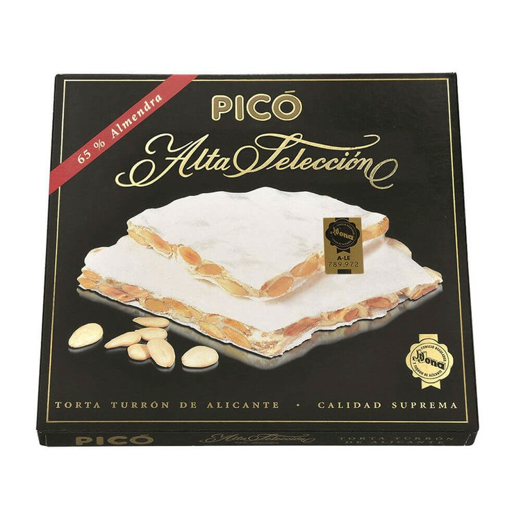 Torta Turrón de Alicante Hard Nougat with Toasted Marcona Almonds IGP 150g