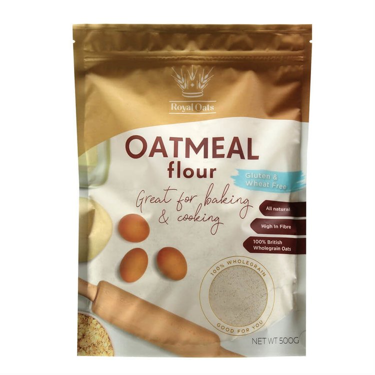 Wholegrain Oatmeal Flour 500g (Gluten Free, Wheat Free)