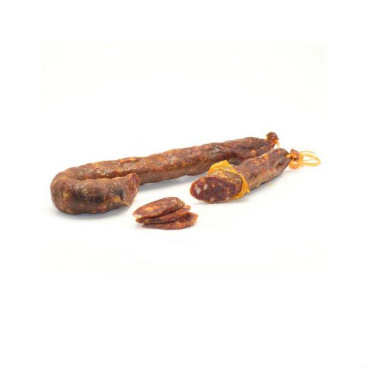 Organic Calabrian Black Pork Spicy Salsiccia Salami DOP 350g