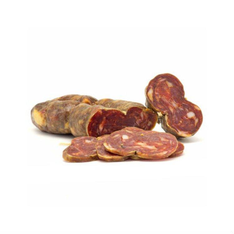 Organic Calabrian Black Pork Soppressata Salami 350g