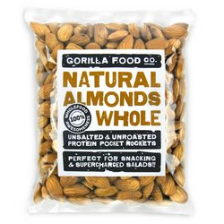 400g Whole Natural Californian Almonds (Nonpareil Variety)