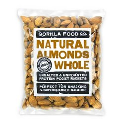 200g Whole Natural Californian Almonds (Nonpareil Variety)