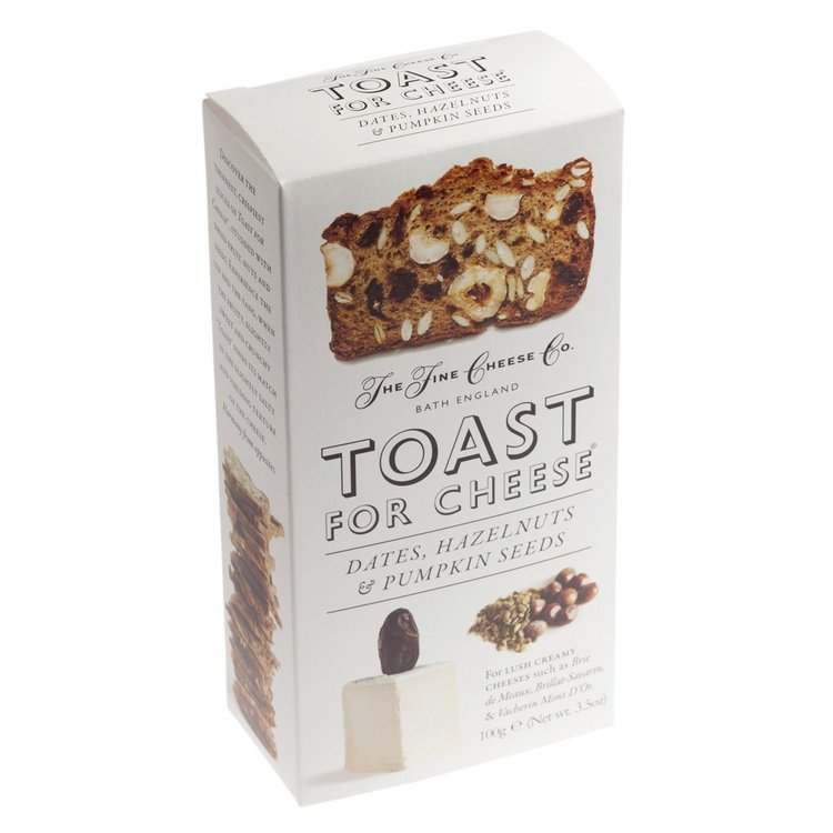 Toast For Cheese Dates, Hazelnuts & Pumpkin Seed 100g