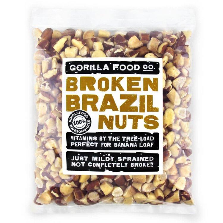 800g Raw Broken Brazil Nuts