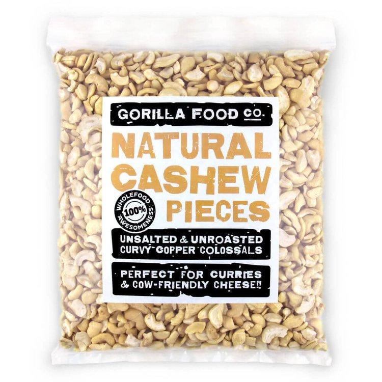 800g Raw Cashew Nut Pieces