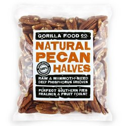 400g Natural Junior Mammoth Pecan Halves
