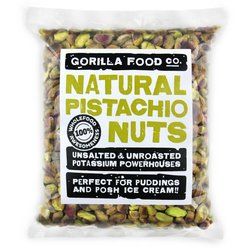 200g Whole Shelled Pistachio Nuts (Unsalted, Unroasted)