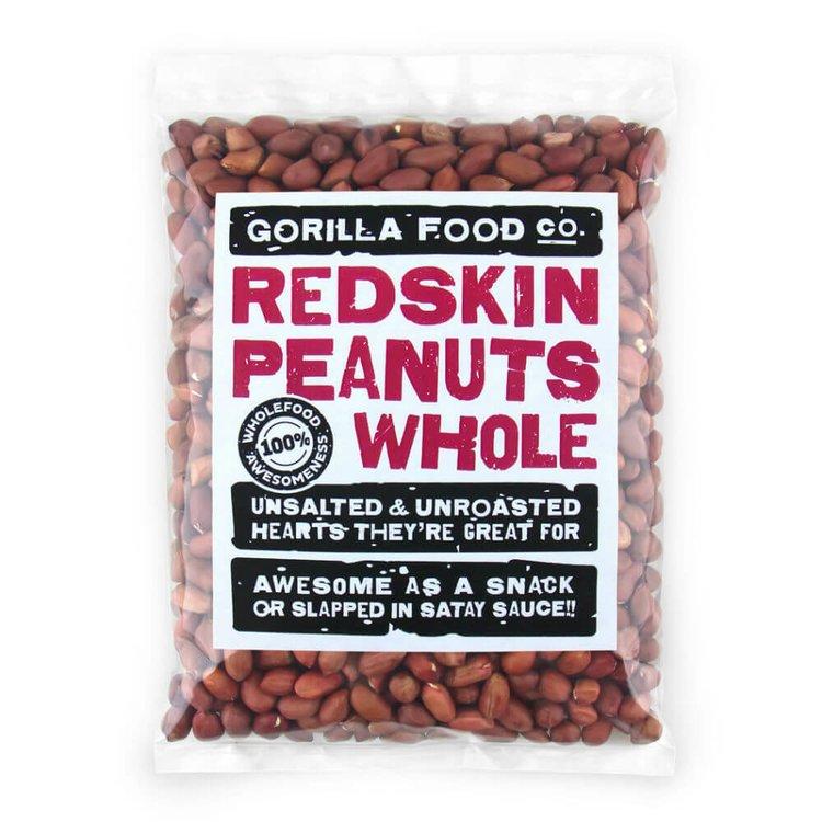 100g Whole Redskin Peanuts