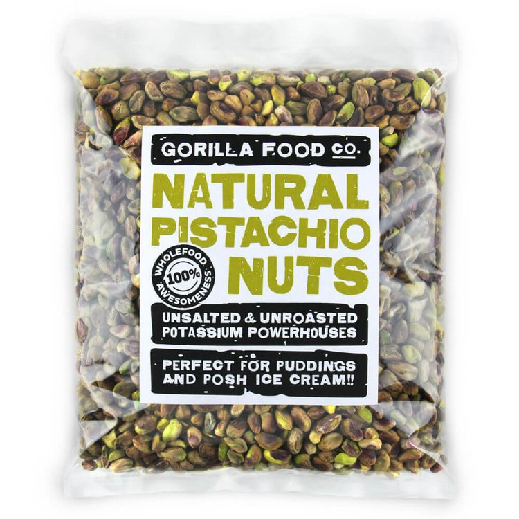 800g Whole Shelled Pistachio Nuts (Unsalted, Unroasted)