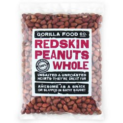 400g Whole Redskin Peanuts