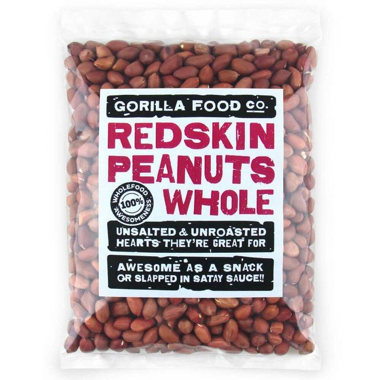 400g Whole Redskin Peanuts