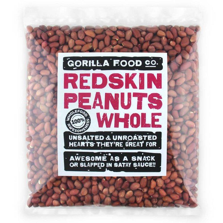 800g Whole Redskin Peanuts