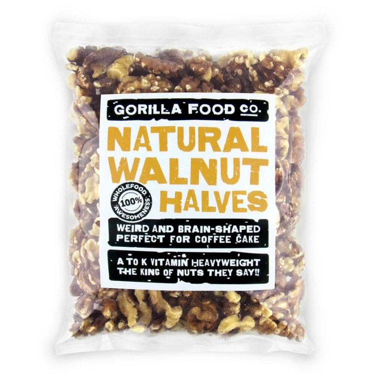 200g Natural Walnut Halves