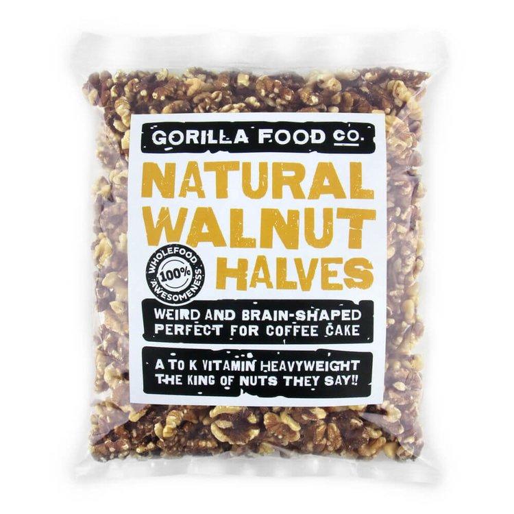 400g Natural Walnut Halves