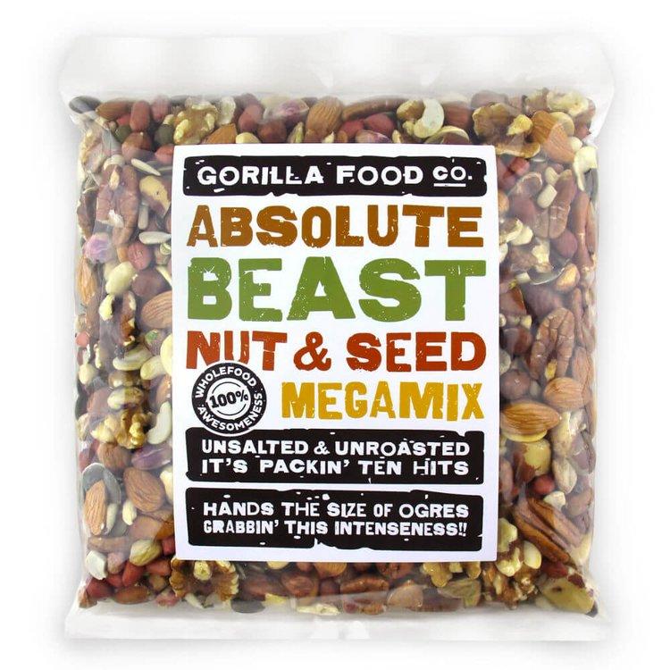 'Absolute Beast' 10 Nut & Seed Megamix Inc. Almonds, Cashews & Pumpkin Seeds 800g
