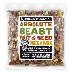 'Absolute Beast' 10 Nut & Seed Megamix Inc. Almonds, Cashews & Pumpkin Seeds 800g