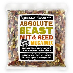 'Absolute Beast' 9 Nut & Seed Megamix Inc. Almonds, Cashews & Pumpkin Seeds 800g