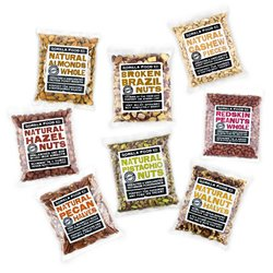 8 x 100g Mega Nut Mixed Pack Inc. Almonds, Pistachios, Cashews & Pecan Nuts