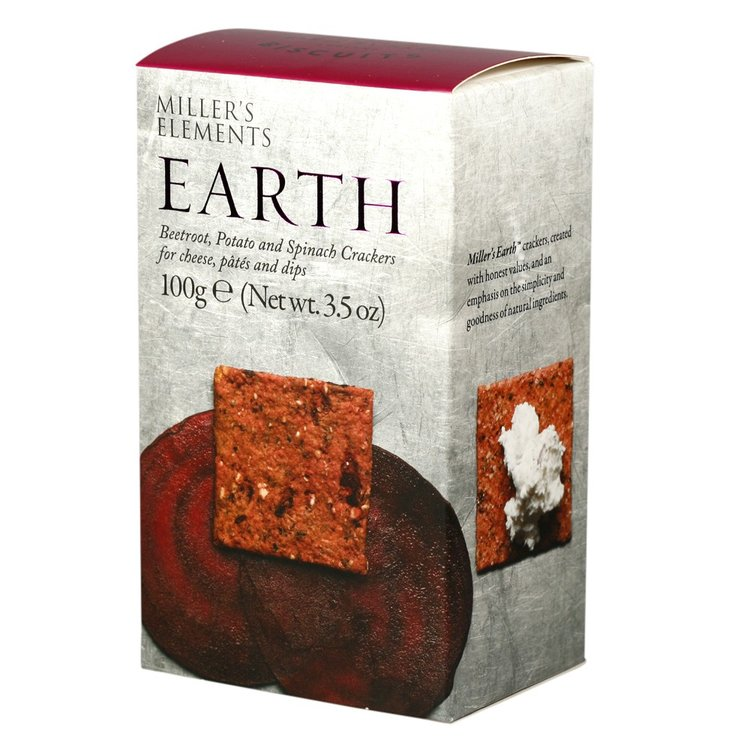 Earth Beetroot, Potato & Spinach Crackers 100g