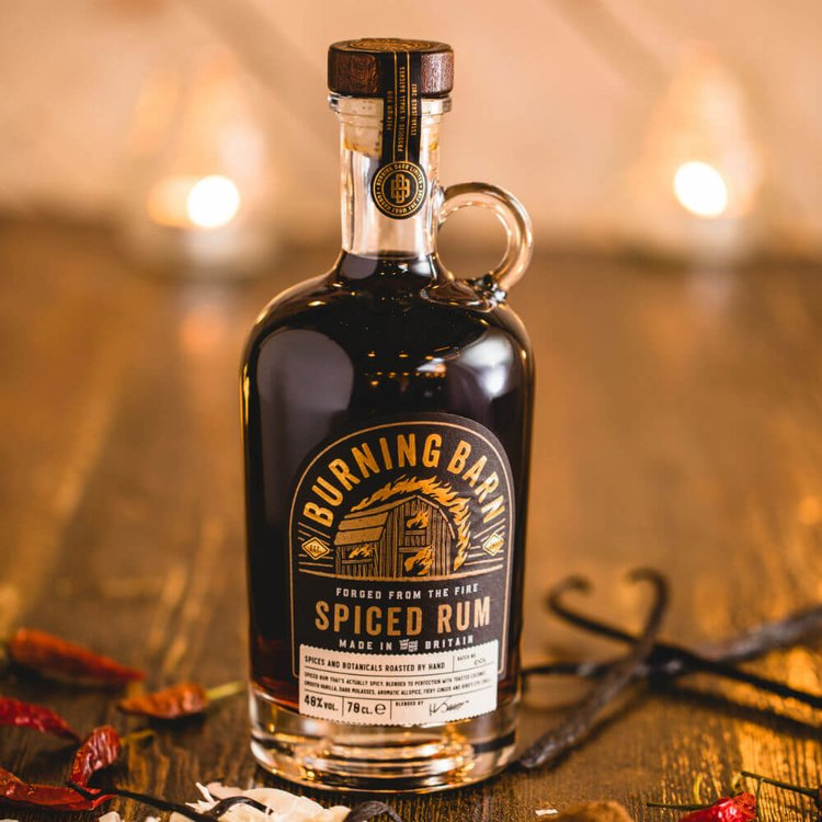 Spiced Rum with Coconut, Vanilla & Bird's Eye Chilli 70cl 40% Vol.