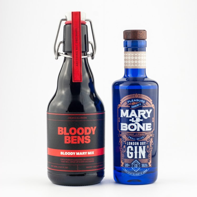 Bloody Mary 'Red Snapper' Mary-lebone Gin & Spice Mix Cocktail Gift Set