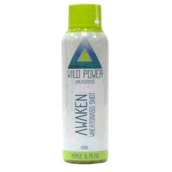 14 x 'Awaken' Wheatgrass Shot with Apple & Pear Juice 60ml (Ready to Drink)
