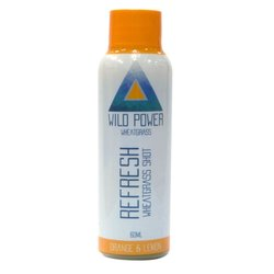 7 x 'Refresh' Wheatgrass Shot with Orange & Lemon Juice 60ml (Ready to Drink)