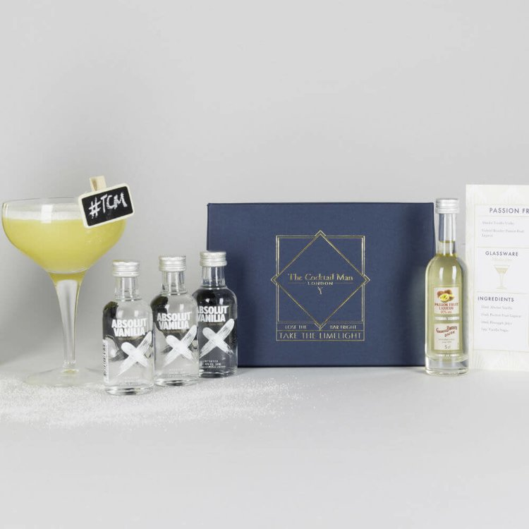 Passion Fruit Martini Cocktail Gift Box