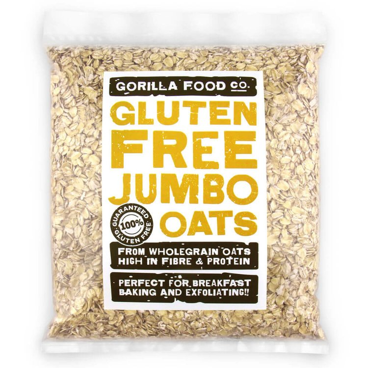 800g Whole Rolled Jumbo Oats (Gluten Free)