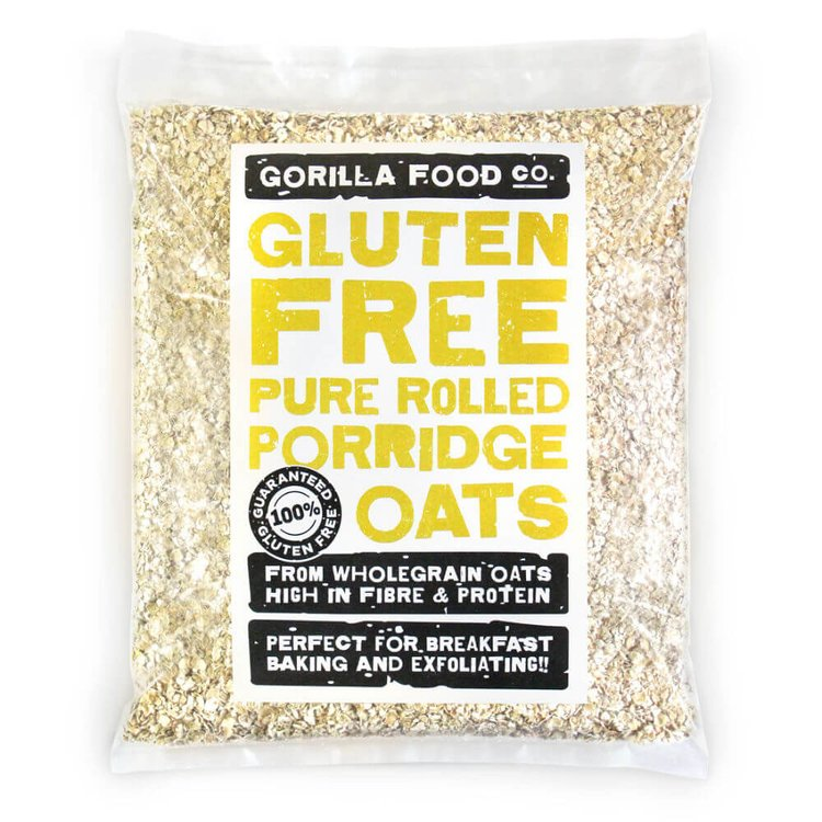 400g Pure Rolled Porridge Oats (Gluten Free)