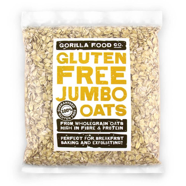 400g Whole Rolled Jumbo Oats (Gluten Free)