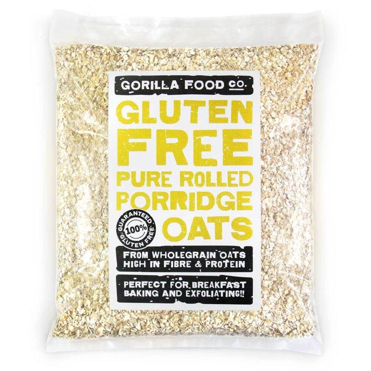 800g Pure Rolled Porridge Oats (Gluten Free)