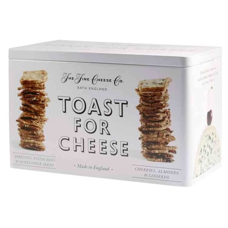Toast for cheese twin set tin
