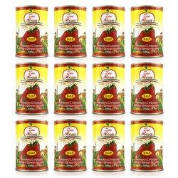 12 x San Marzano Tinned Tomatoes D.O.P. 400g