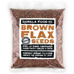 400g Whole Brown Flax Seeds (Linseeds)