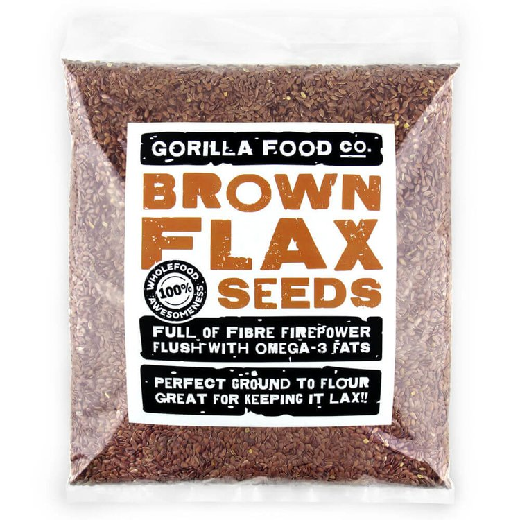 800g Whole Brown Flax Seeds (Linseeds)