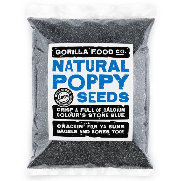 400g Natural Poppy Seeds