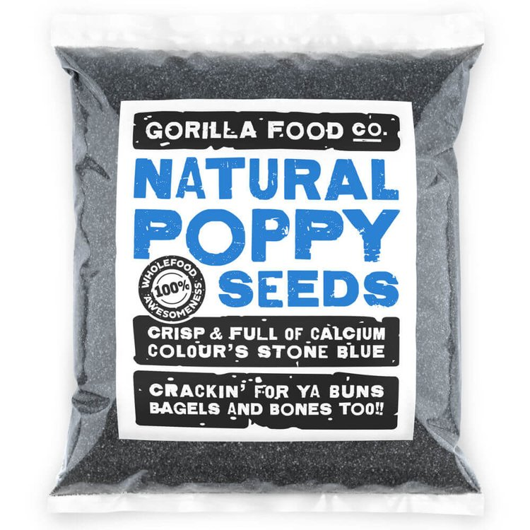 800g Natural Poppy Seeds