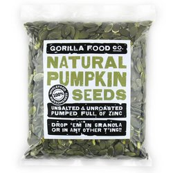 400g Raw Natural Pumpkin Seeds (Grade AA)
