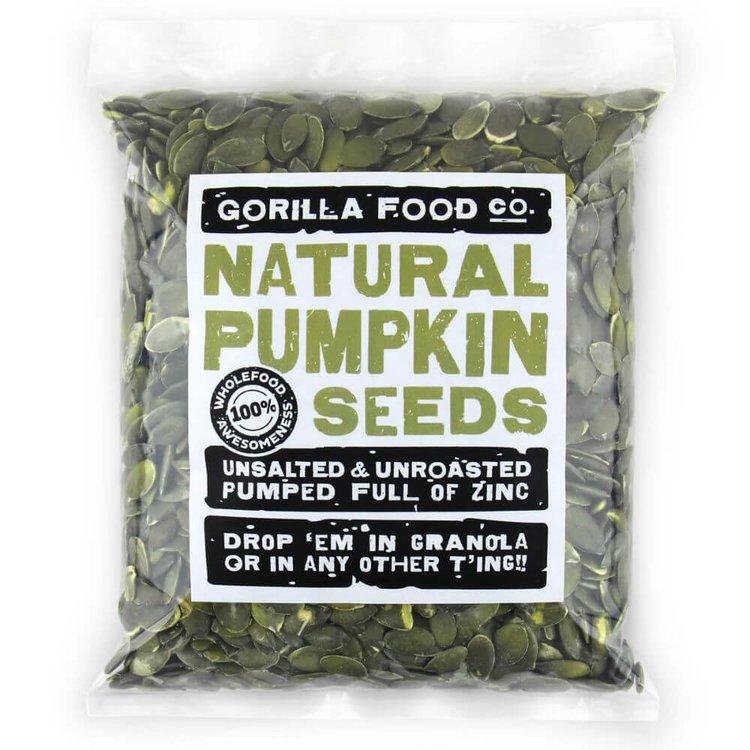 400g Raw Natural Pumpkin Seeds (Grade AA)