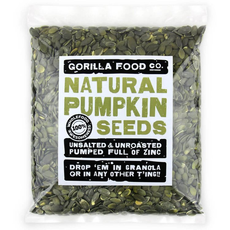 800g Raw Natural Pumpkin Seeds (Grade AA)