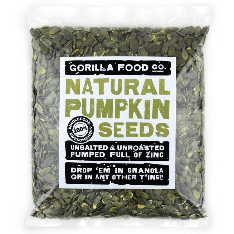 800g Raw Natural Pumpkin Seeds (Grade AA)