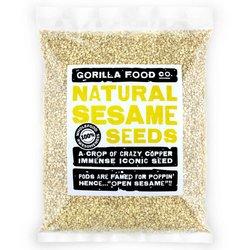 400g Raw Hulled Natural Sesame Seeds